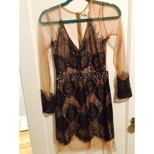 Tobi Lace Mesh Dress
